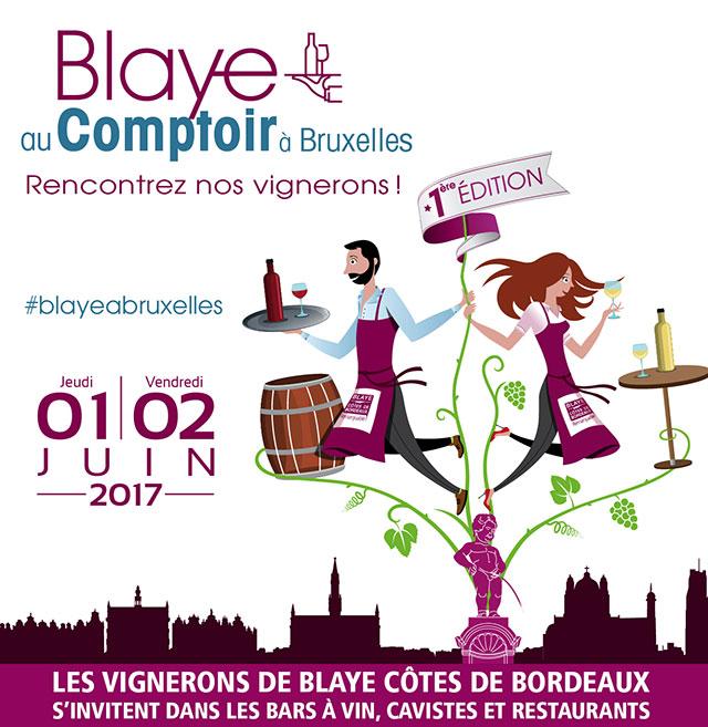 Blaye au comptoir Bruxelles 2017