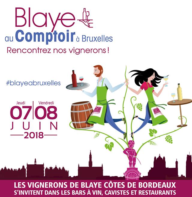 Blaye au comptoir Bruxelles 2018